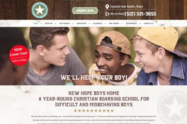 New Hope Boys Home